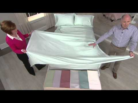 Northern Nights 600TC 100% Egyptian Cotton Sheet Set on QVC