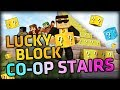 BREAKING THEM TOGETHER! - Minecraft Mods - Lucky Block CO-OP Stairs w/ BajanCanadian xRpMx13