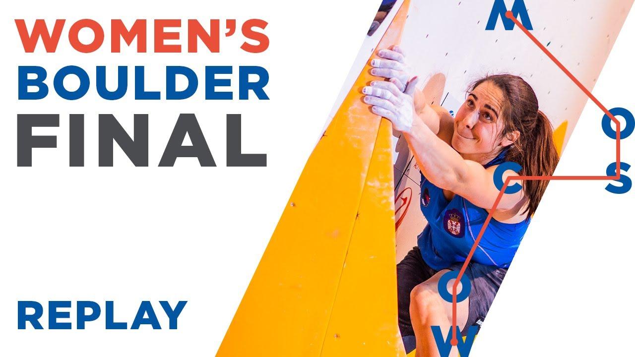 Download IFSC World Championships Moscow 2021    Women's Boulder Final