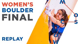 IFSC World Championships Moscow 2021    Women's Boulder Final
