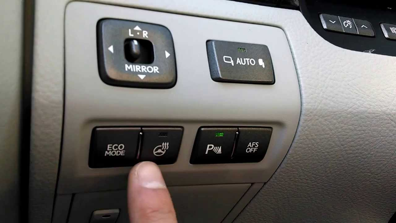 Lexus Ls 460 Driver Control Panel Explanation Youtube Blend Door Diagram