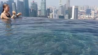 Бассейн, парящий над городом Сингапура! отель Marina Bay Sands(, 2015-01-26T04:09:58.000Z)