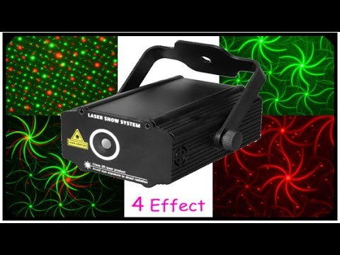 Best Music Sensitive Laser Projector for DJ Disco Party New Year