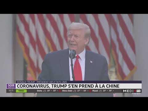 Pandémie du Coronavirus: Trump s´en prend à Pékin