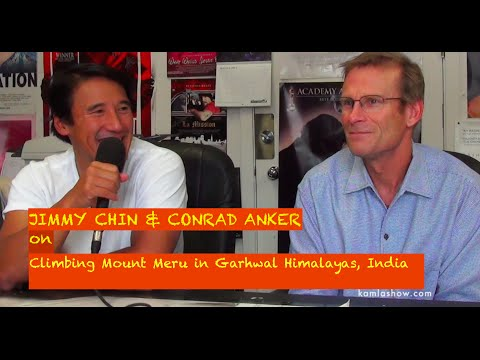 Conrad Anker and JImmy Chin on