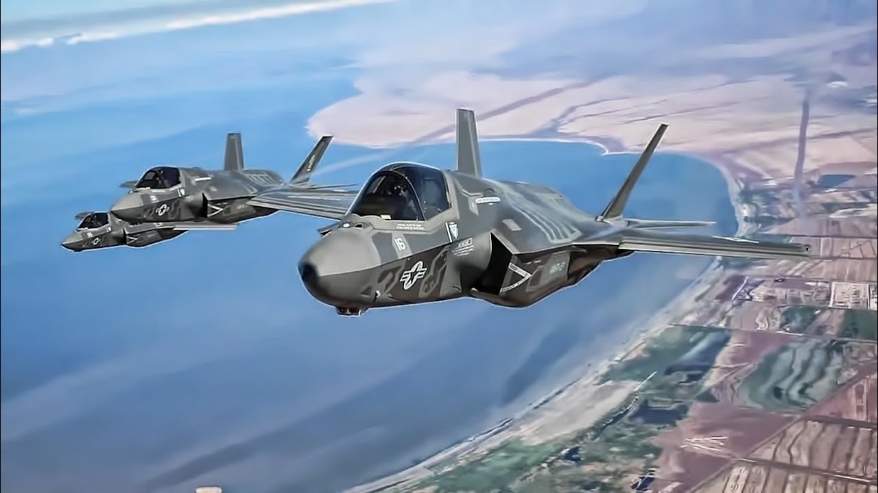 F-35 Lightning II • Hot Refueling + Aerial - YouTube