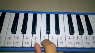 Tinggal kenangan - Pianika cover