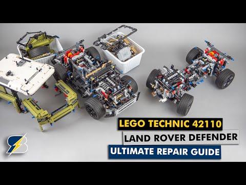 LEGO Technic 42110 Land Rover Defender Ultimate repair guide