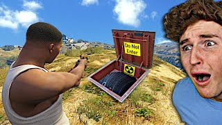 I Found A SECRET Underground BASE In GTA 5.. (Mods)