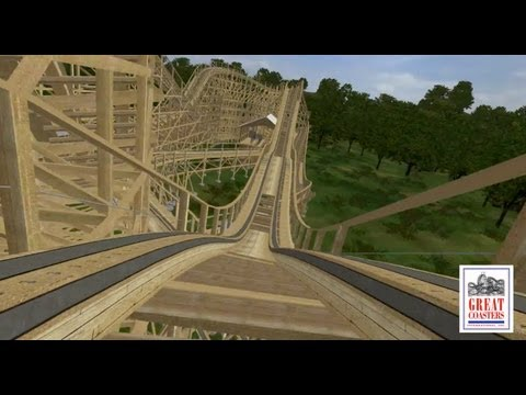 GCI Big Fun Wooden Compact Roller Coaster Concept POV IAAPA 2012