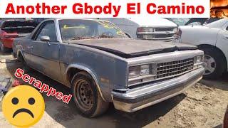 G-body El Camino Junk Yard Find