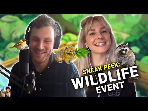 Sneak Peek: The NEW Wildlife Event! | Forge of Empires