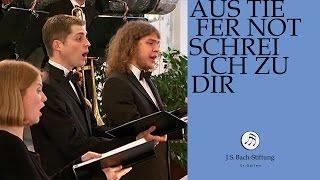 J.S. Bach - Cantata BWV 38 - Aus tiefer Not schrei ich zu Dir - 5 - Aria (J. S. Bach Foundation)