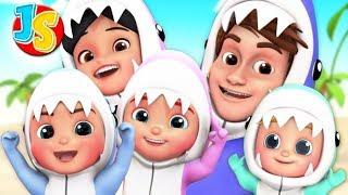 Zapętlaj Baby Shark Song | Kids Songs & Nursery Rhymes | Children Videos | Junior Squad - Nursery Rhymes & Kids Songs