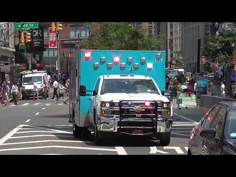 Hatzolah Volunteer Ambulance NYC - Great Siren by Urgences Genève