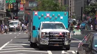 (HiLo) Ambulance Mount Sinai New York City