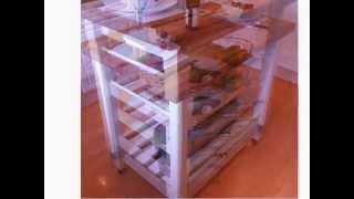 Kitchen Butchers Block Island Unit Table Shabby Chic Farrow & Ball Laura Ashley