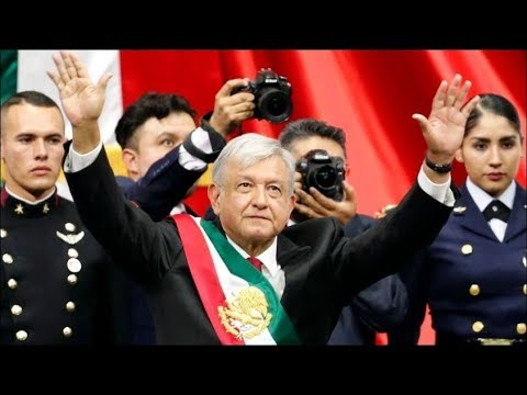 New Mexican President Lopez Obrador opens his palace to the public, Dec 2, 2018