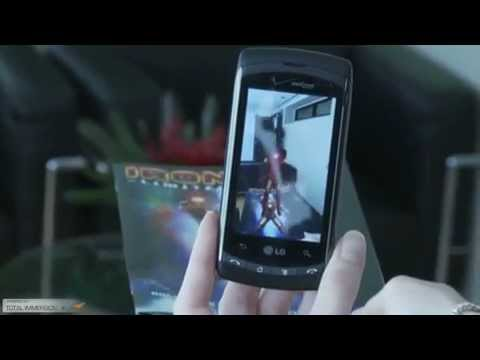 LG Ally Iron Man 2 Augmented Reality Experience Markerless T.mp4