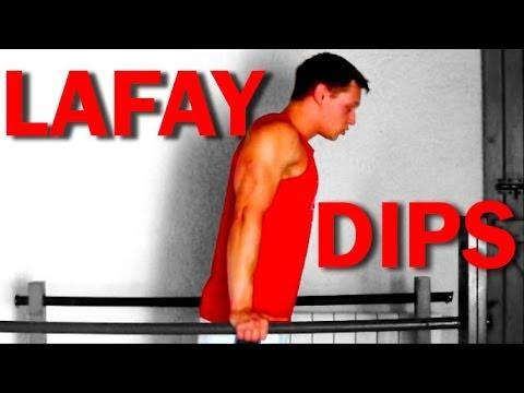 Méthode Lafay : les dips (exercice B) HD-720p - YouTube
