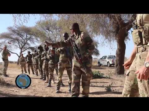 #Flintlock17 Day One training in Niger