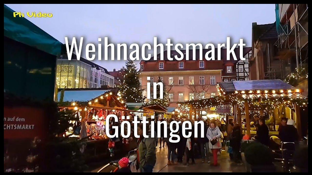 Weihnachtsmarkt Göttingen.Weihnachtsmarkt Göttingen X Mas Market Göttingen Germany Ph Video