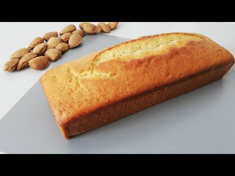 recette-rapide-de-cake-aux-amandes-|-ultra-moelleux---facile-à-faire-|-delicious-almond-cake