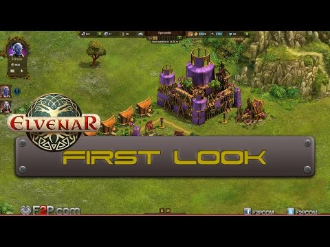 Elvenar First Look Gameplay Commentary