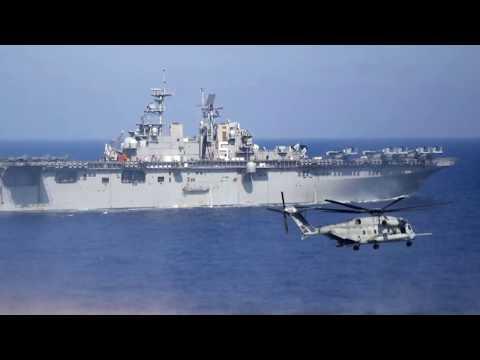 Straße von Hormus: Iranisches Kriegsschiff blendet US-Marinehelikopter