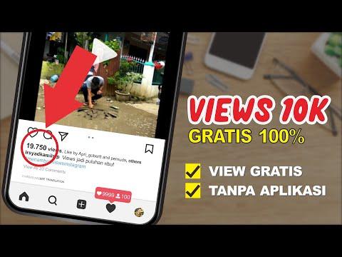 GRATIS!CARA MENAMBAH VIEW INSTAGRAM 10K