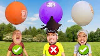 Yanlış Balonu Seçersen Gümlersin