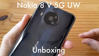 "Nokia 8 V 5G UW unboxing: a $700 Nokia ""flagship"" for Verizon!"