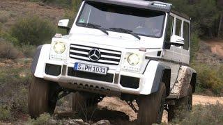Mercedes G 500 4x4² - Erster Fahrbericht