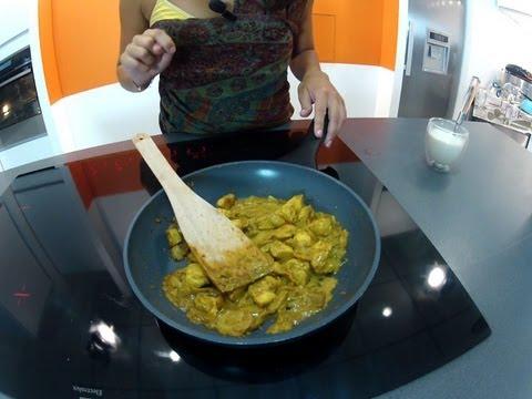 RECETTE : poulet au curry
