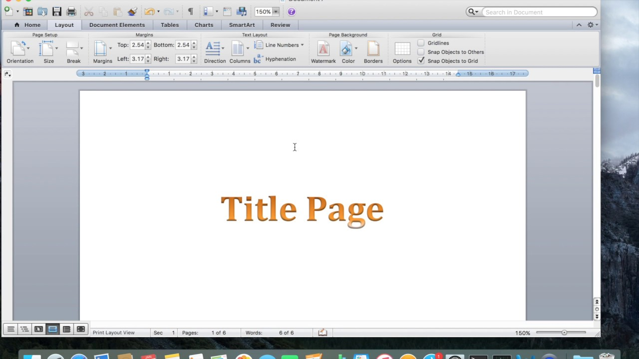how to add page numbers in word mac