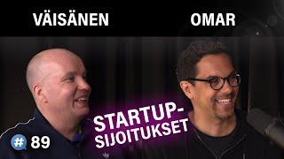 Parhaat startup-sijoitukset (Kim Väisänen & Ali Omar) #puheenaihe 89 | PODCAST