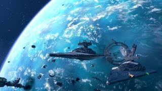 Battlefront Rogue One: Scarif DLC Space Battle gameplay