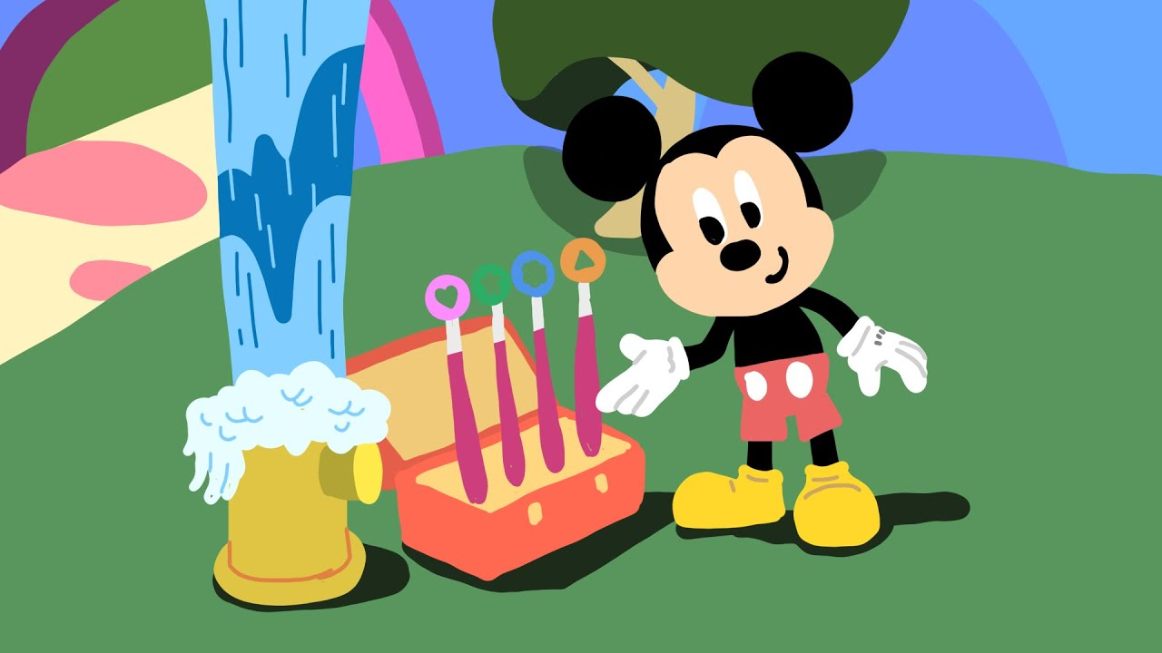 Mickey Mouse Clubhouse Hunt Drawing - Disney Junior Doodles