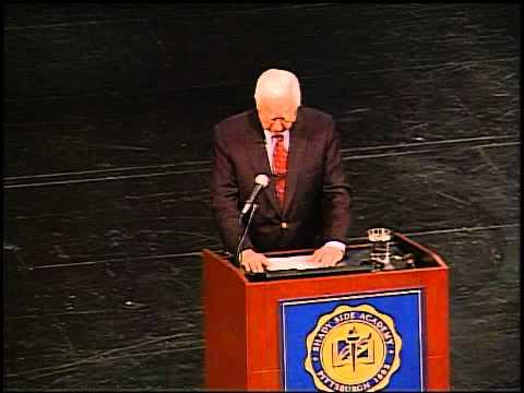 David McCullough '51 SSA 125th Anniversary Celebration Address May 2, 2009