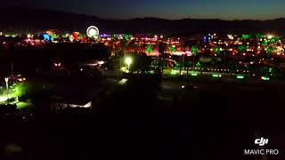 Coachella Music Festival 2018 drone video