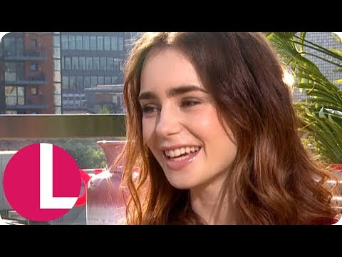 Lily Collins' Message to Fellow Sufferers of Eating Disorders | Lorraine