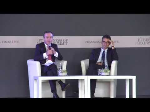 FT Business of Luxury Summit 2015 D2 Closing Keynote - Federico Marchetti