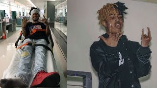 Wifisfuneral Tried to Crowd Surf at xxxtentacion show... but Thugs in the crowd Stomped him out.