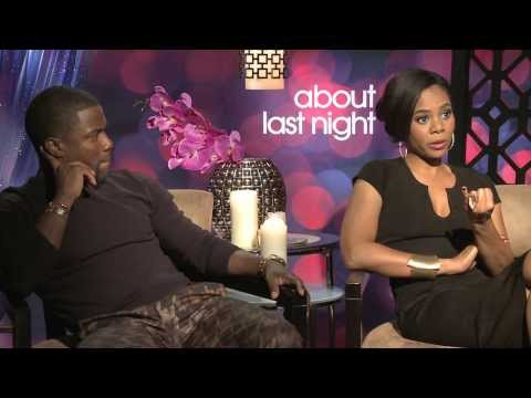 About Last Night Exclusive: Kevin Hart & Regina Hall Interview