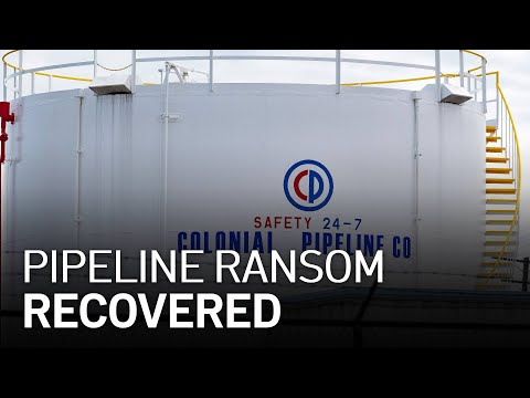 U.S. Recovers $2.3 Million in Bitcoin Paid in the Colonial Pipeline Ransom
