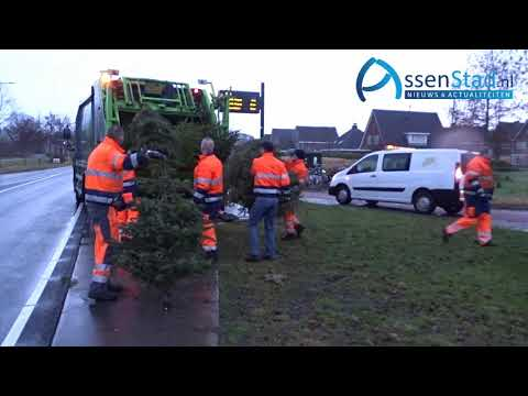 kerstboom opruimteam Assen 2019