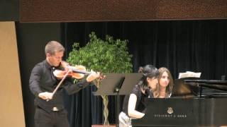 2011 President's Concert - Violin Sonata No. 1 in G Major