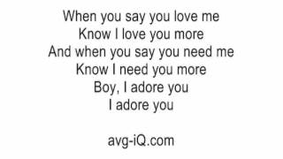 Adore You by Miley Cyrus acoustic guitar instrumental cover with onscreen lyrics karaoke