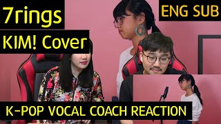 Download lagu K pop Vocal Coach reacts to 7 Rings KIM Cover