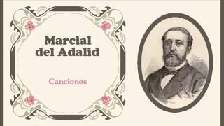 """Marcial del Adalid - «Canto de berce» de los """"Cantares viejos y nuevos de Galicia"""" (1877)"""